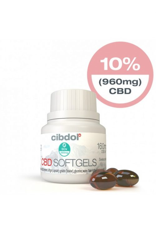 cbd softgel capsules 60